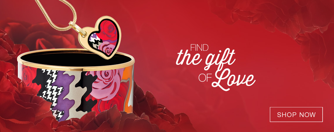 Gift Ideas for Valentine´s Day - Enamel Jewellery Excellence
