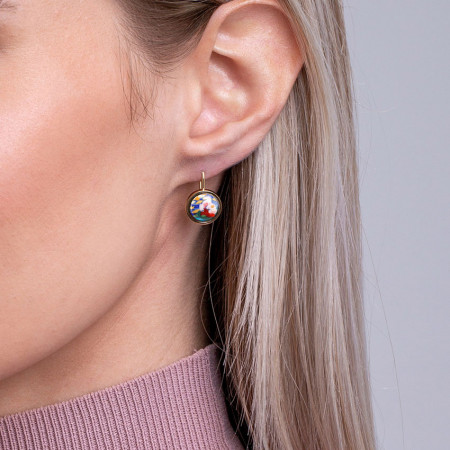 Ohrringe Cabochon-Hänger