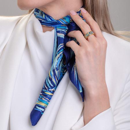 Geschenkset Éternité - Miss Ring & Seiden-Gavroche