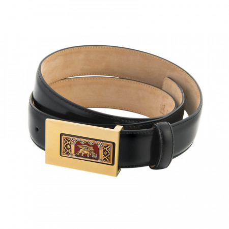 Leather Belt & Buckle Admiral