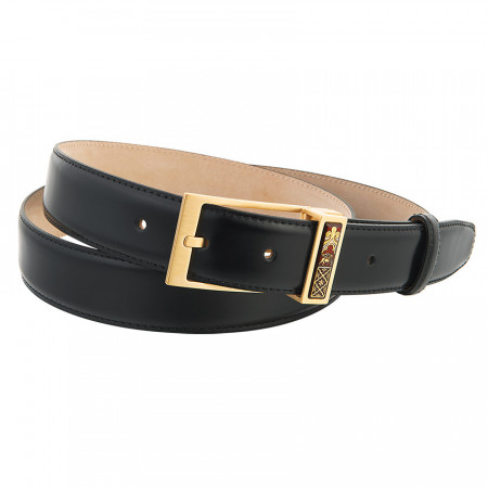 Leather Belt & Buckle Capitan