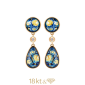 Ohrringe Saint Tropez Diamond Drops
