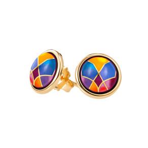 Earrings Cabochon