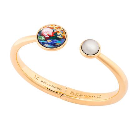 Spring Bracelet mit Perle