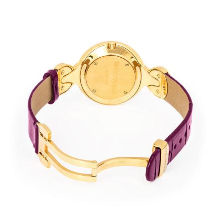 Schmuckuhr Helena / Alligator Uhrenband - lila