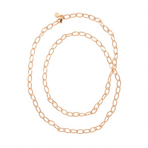 Anchor Chain Oval in rose gold