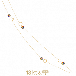 Chain Necklace Aurora