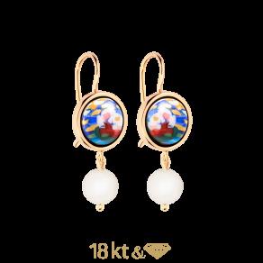 Earrings Marbella Pearls