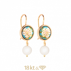 Earrings Marbella Pearls