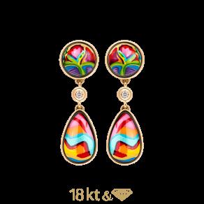 Earrings Saint Tropez Diamond Drops