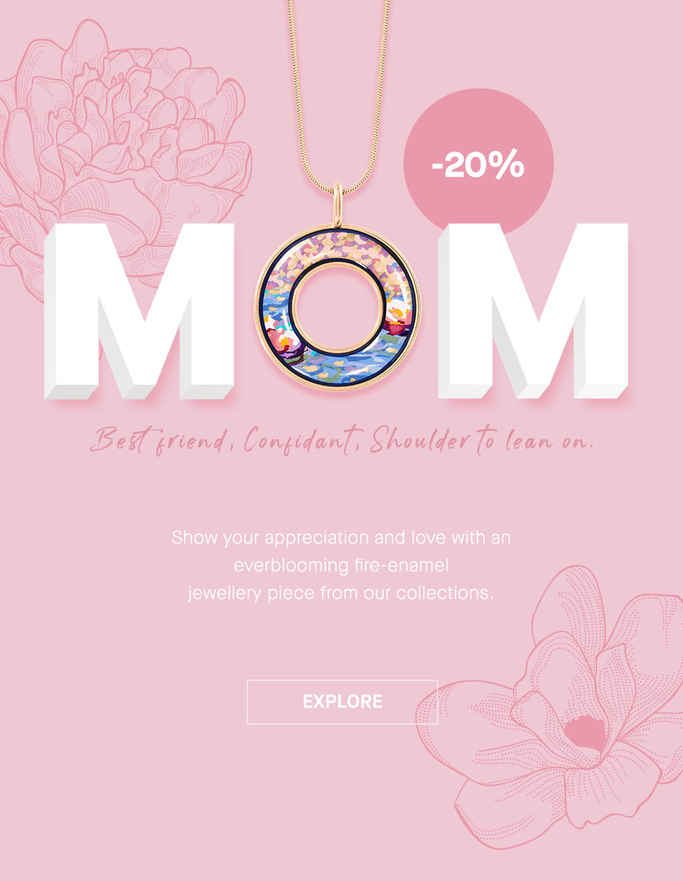 Click to shop -20% on Mother's Day Gifts