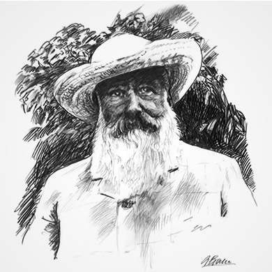 Portrait of Claude Monet