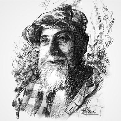 Portrait of Hundertwasser
