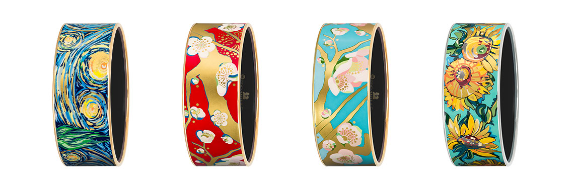 Vincent van Gogh Donna Bangles in four designs