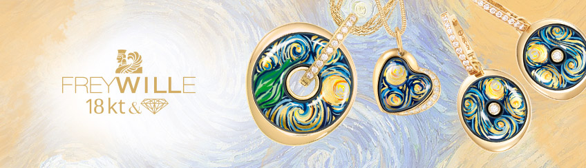 Hommage à van Gogh - Eternité - 18 karat gold and diamonds